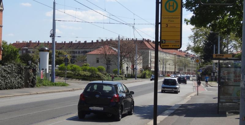 Großenhainer Platz Gleissanierung 0605