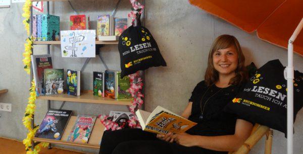 Bibliothek Pieschen: Buchsommer gestartet - neuer Fußboden kommt im Juli
