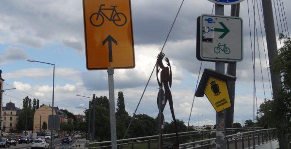Molenbrücke Umleitung 2106
