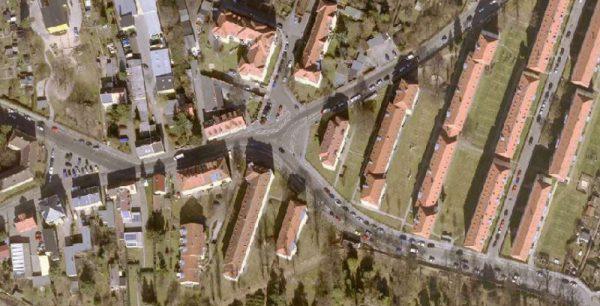 Knotenpunkt in Trauchau wird bis November zum Kreisverkehr umgebaut