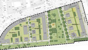 Der Startschuss für das erste große Bauvorhaben im Masterplangebeit Kaditz/Mickten steht unmittelbar bevor. Ende September soll der Stadtrat entscheiden. Quelle: dresden.de