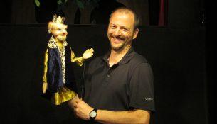 Marco Vollmann initiiert zwei bis dreimal im Jahr ein Treffen der sächsischen freiberuflichen Puppenspieler