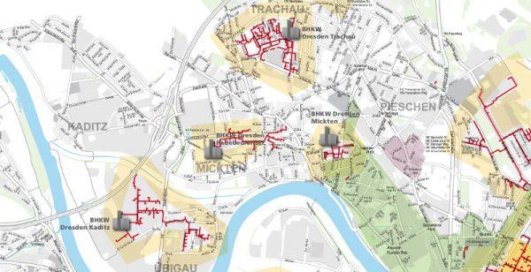 Unterbrechung der Wärmeversorgung in Mickten und Kaditz