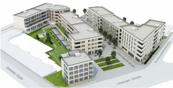 Markus Projekt: Richtfest für 114 Wohnungen und 11 Gewerbeeinheiten