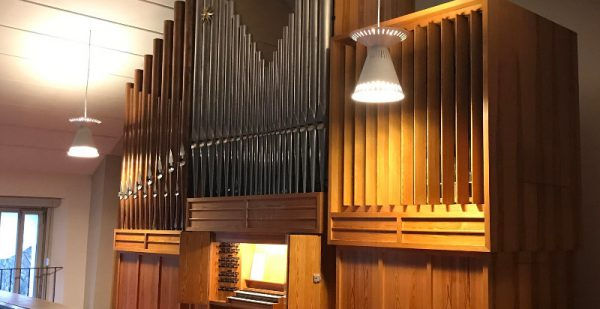 weinbergskirche einweihung orgel 2001