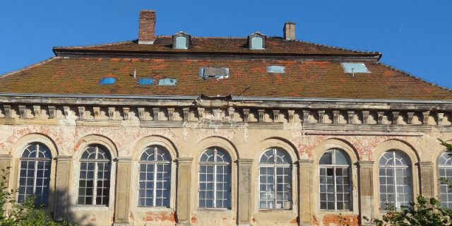 Übigau Schloss enteignung