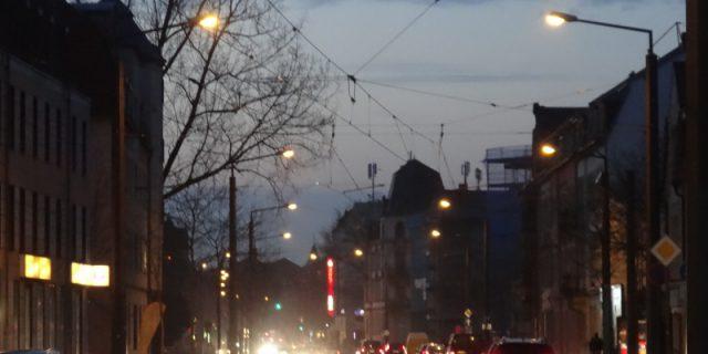 Straßenbeleuchtung Leipziger Str 1602