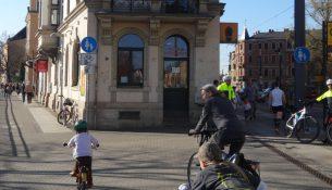 Fahrradstaffel molenbrücke
