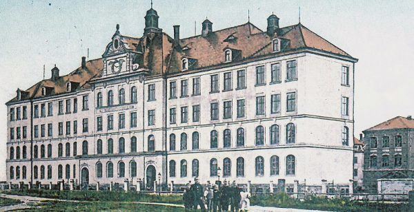 26. Bezirksschule- Wurzener Straße Nr.5 (um 1910 )