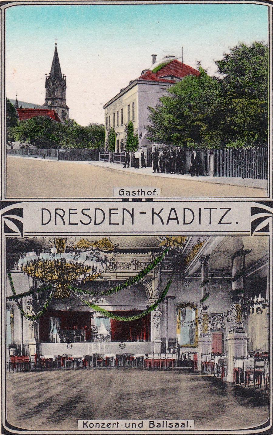 Ansichtskarte Kaditz