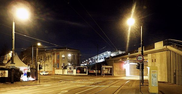Schiefe Brücke Geblerstraße