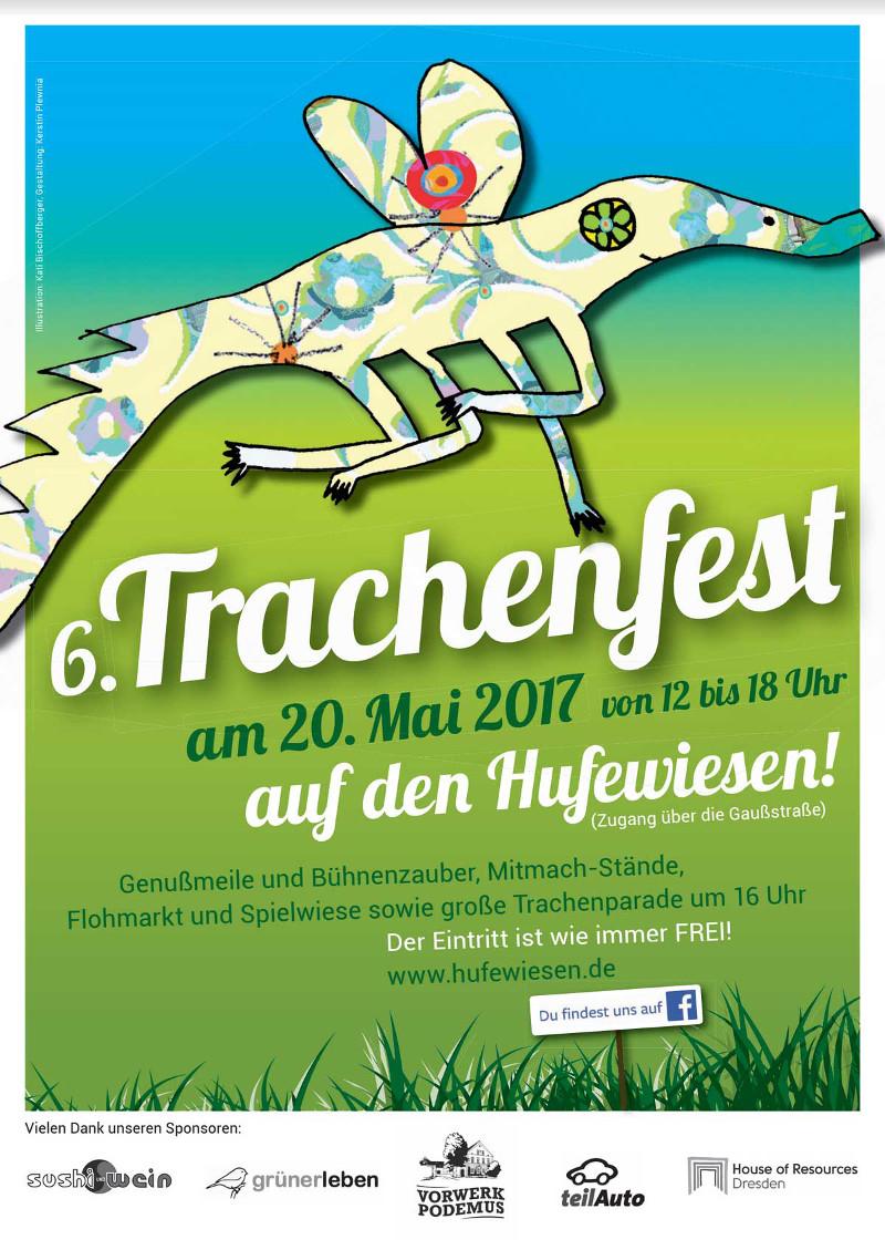 Trachenfest Poster 2017