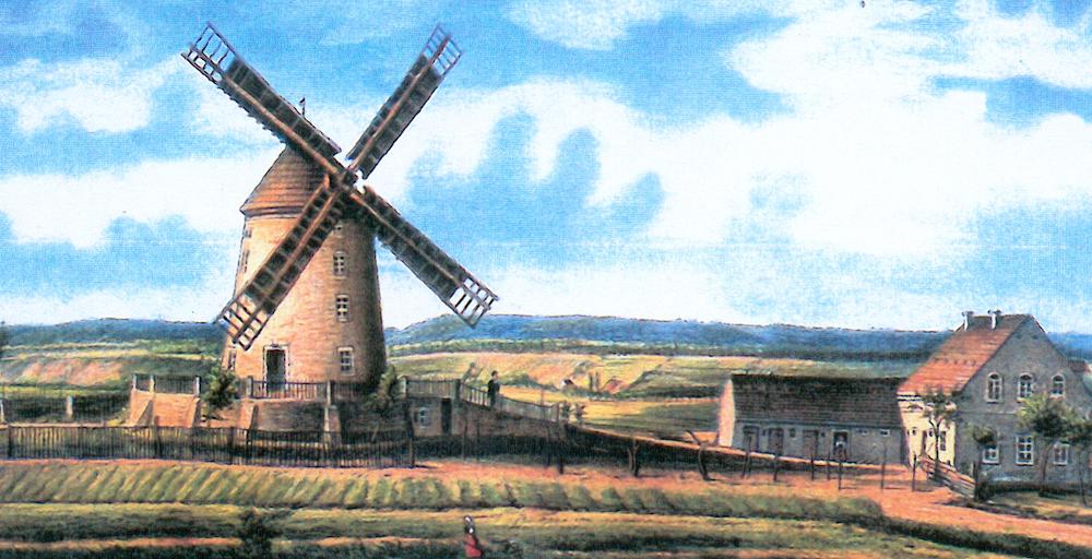 Mühlen Pieschen Windmühle HG Leisniger Platz 1