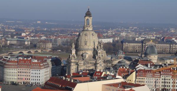 frauenkirche vom rathausturm