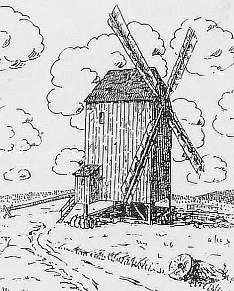 mühlen Boxdorf Bockwindmühle (1839-1849)