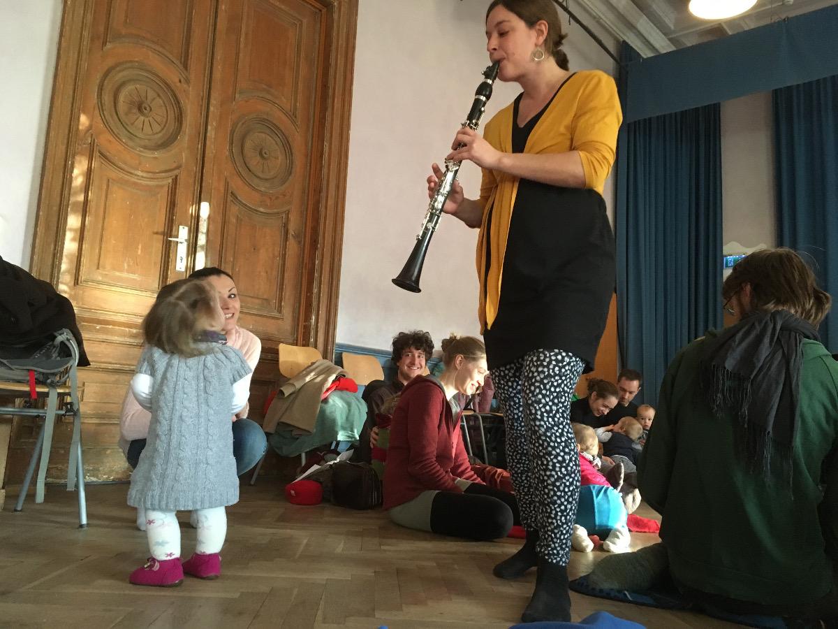 Babykonzerte Klarinette
