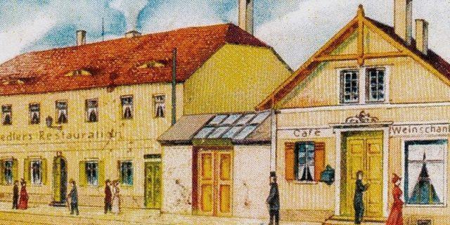 Chausseehaus um 1895