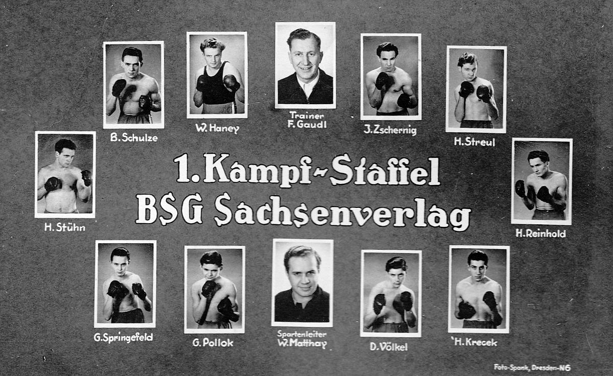 Haney Kampfstaffel 1950