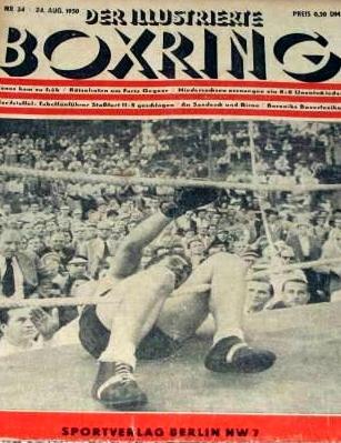 Haney Zeitschrift Boxring