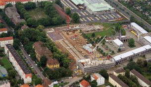 Klingerstrasse Luftbild Haschenz 2009