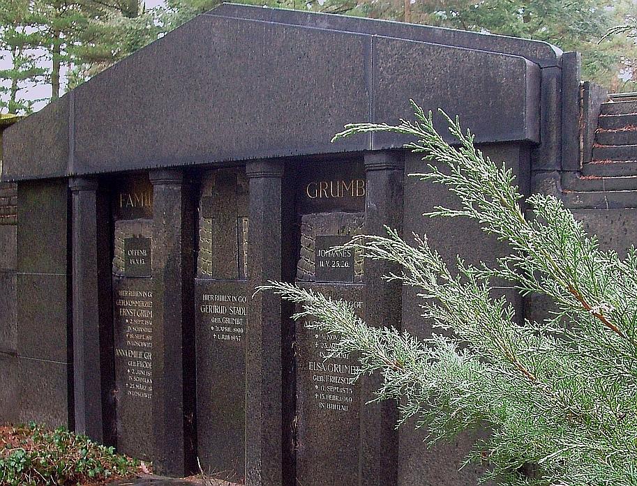 Waldfriedhof Familiengruft