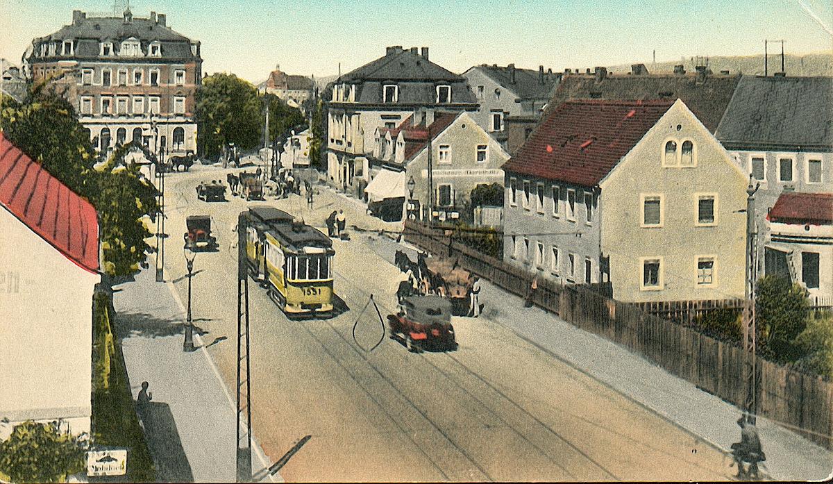 Mickten Leipziger Straße 240-246 um 1925