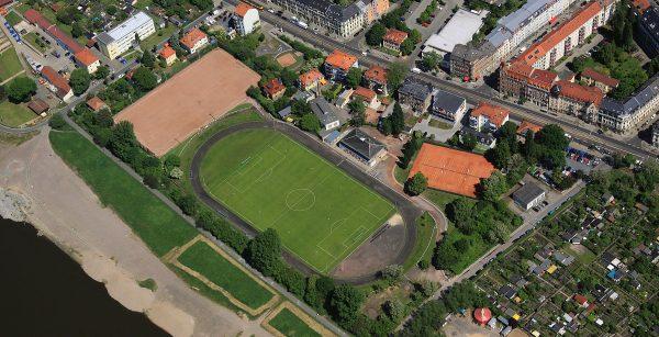 Sportplatz Luftaufnahmen Peter Haschenz 2014