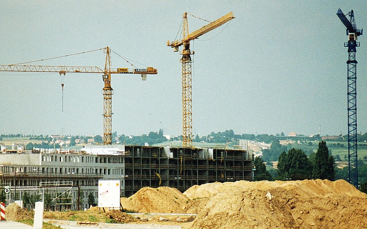 Bau Sparkasse Juli 1996