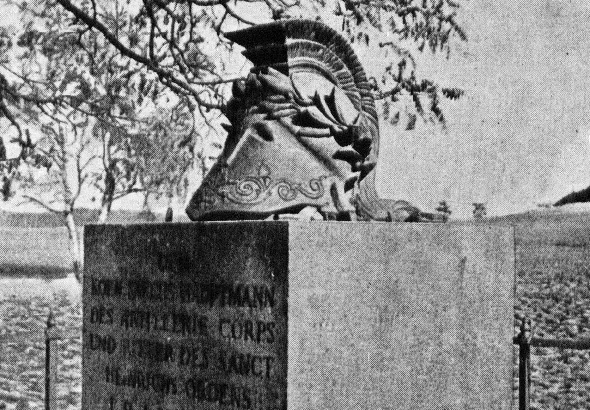 Hirschdenkmal original vor 1945