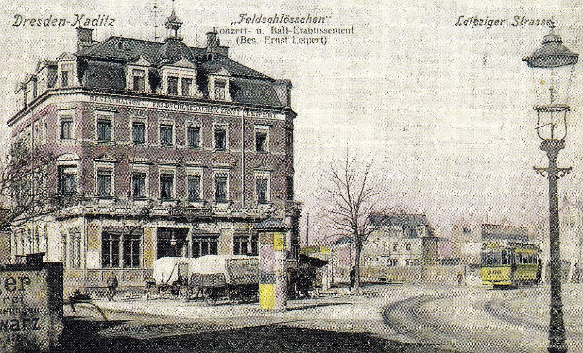 Restaurant Feldschlößchen um 1905