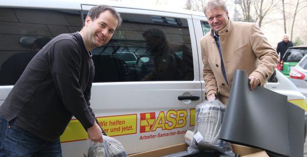 ASB Michael Schulz und Peter Großpietsch