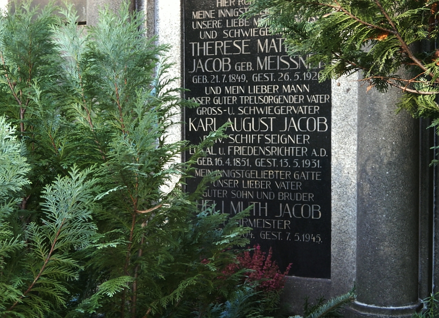 Elbfähre Jacobs Grabstätte
