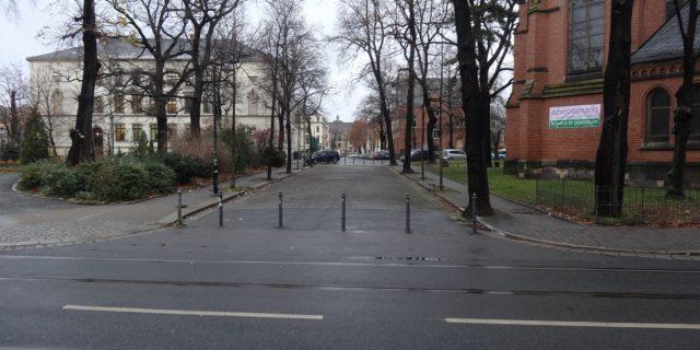 Parken in Pieschen markusplatz