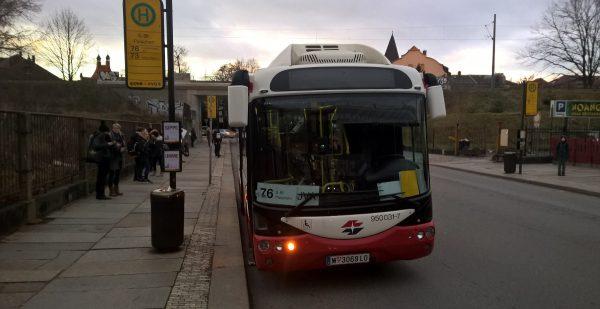 DVB elektrobus test 2901