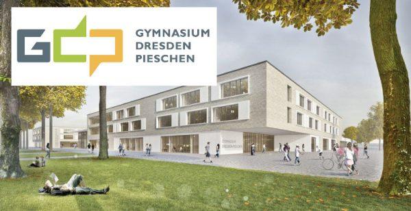 Fördermittel für Schulcampus - Gymnasium Pieschen jetzt mit eigenem Logo