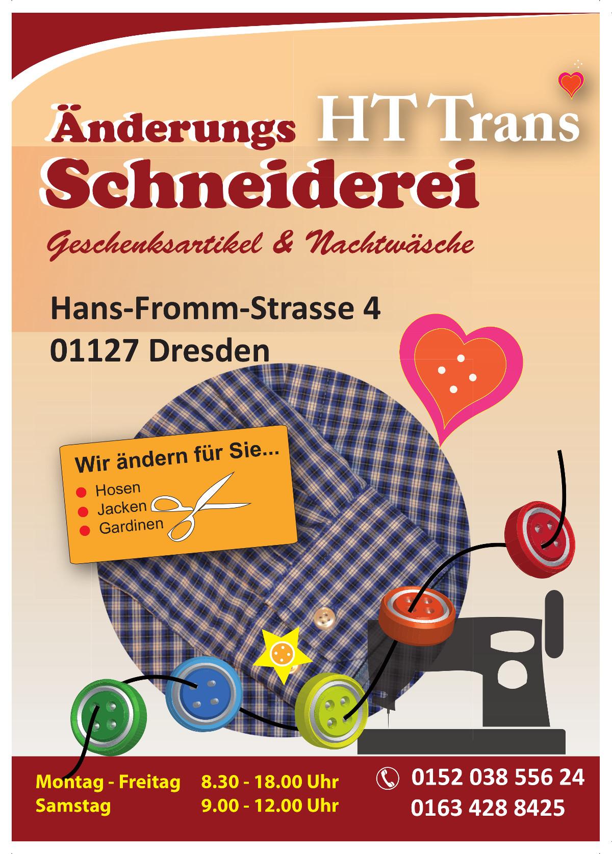 Pham Schneiderei Flyer
