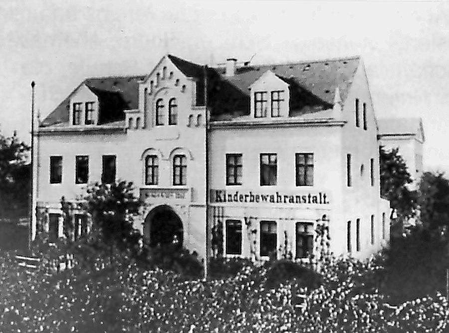 Trachau Schule 1880