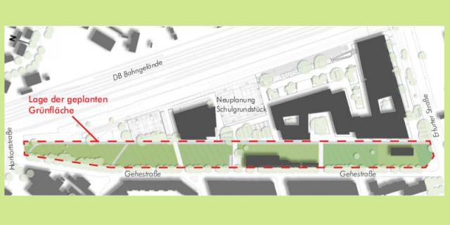 gehestrasse lageplan gruenzug 2908