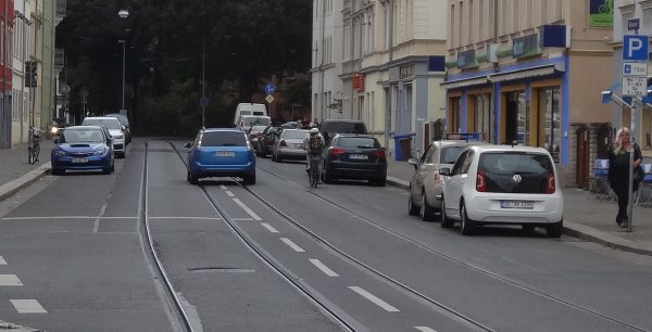 Bürgerstraße radverkehr 2002