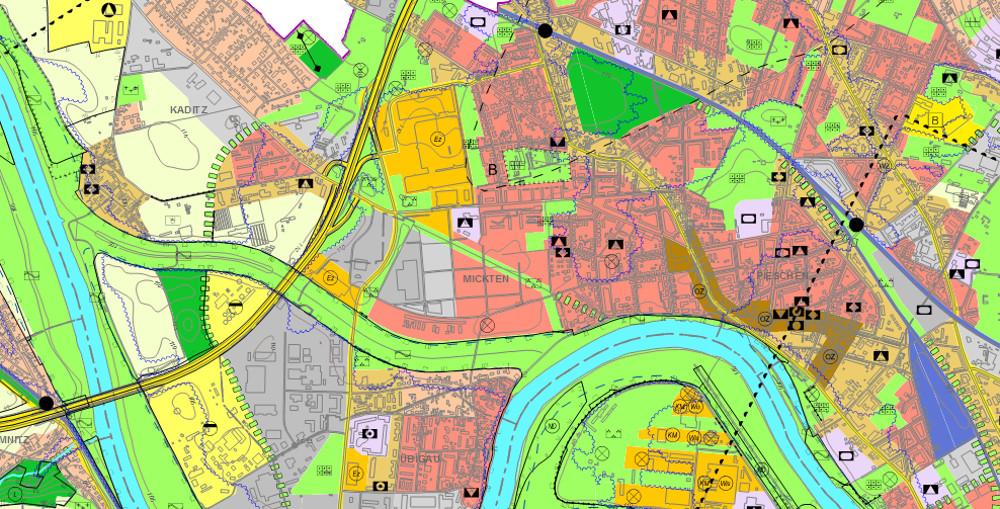 Flächennutzungsplan Entwurf