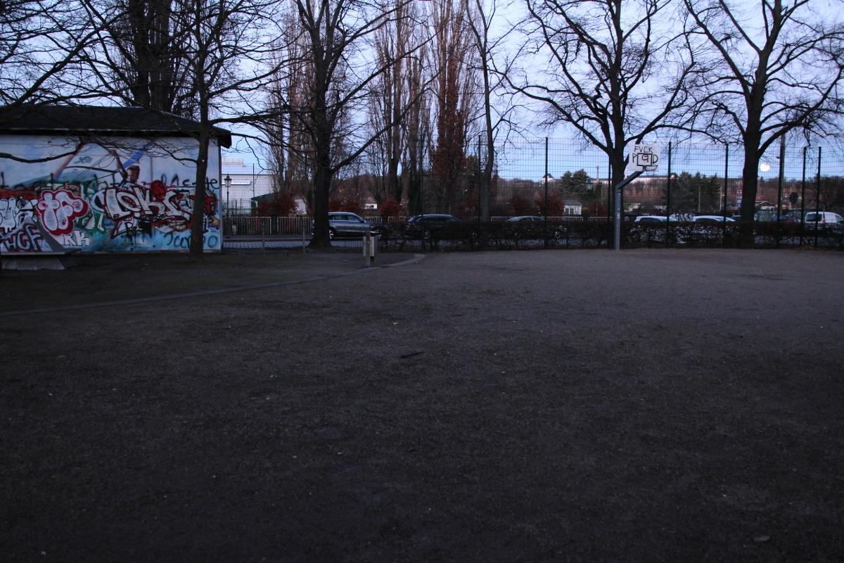 Pestalozziplatz Sportplatz Daniel Grimm