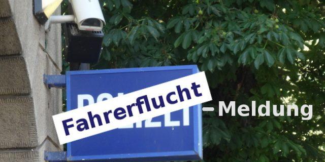 polizeimeldung fahrerflucht