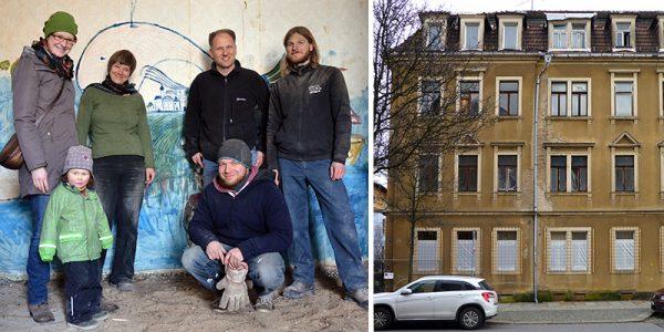 Leisniger Straße 68: Neues Leben in alten Mauern