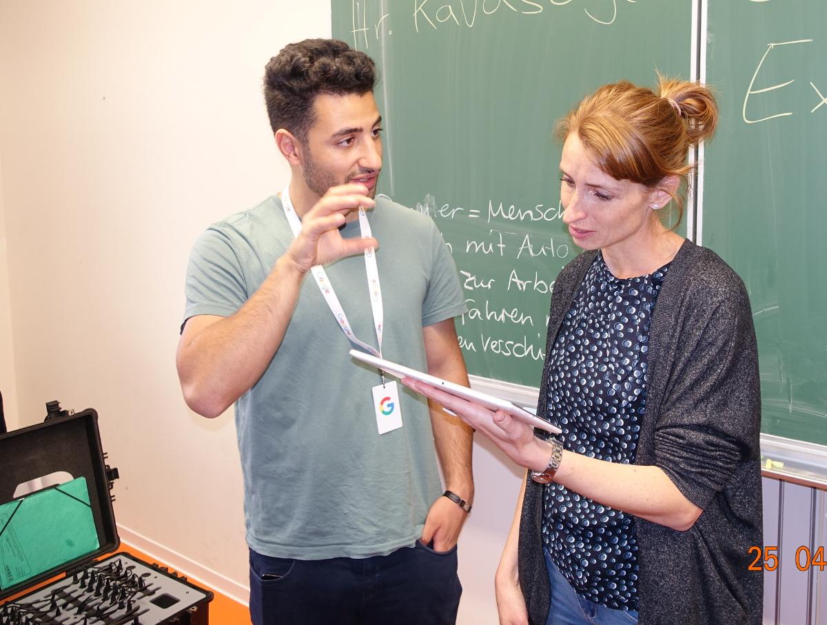 Gymnasium Pieschen VR Brillen 2504 Kavasoglu Pahner