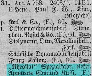 Cruse Adressverzeichnis