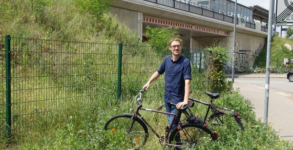 Haltepunkt Pieschen Rad Engel Stefan