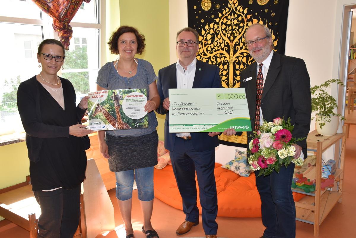 Naturkinderhaus_DREWAG Spende