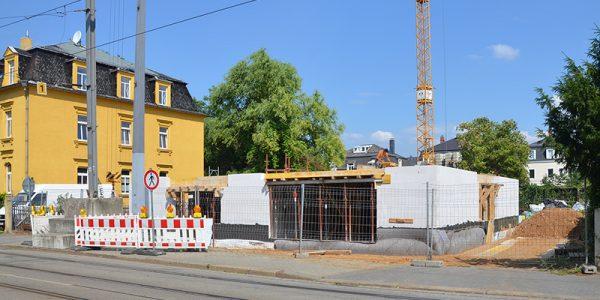 """Eis-Familie"" baut Mietshaus in Mickten"