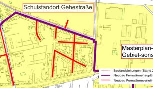 Drewag Fernwärme Eisenberger Strasse