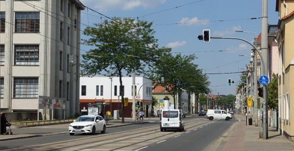 Großenhainer Str Haltestelle Zeithainer